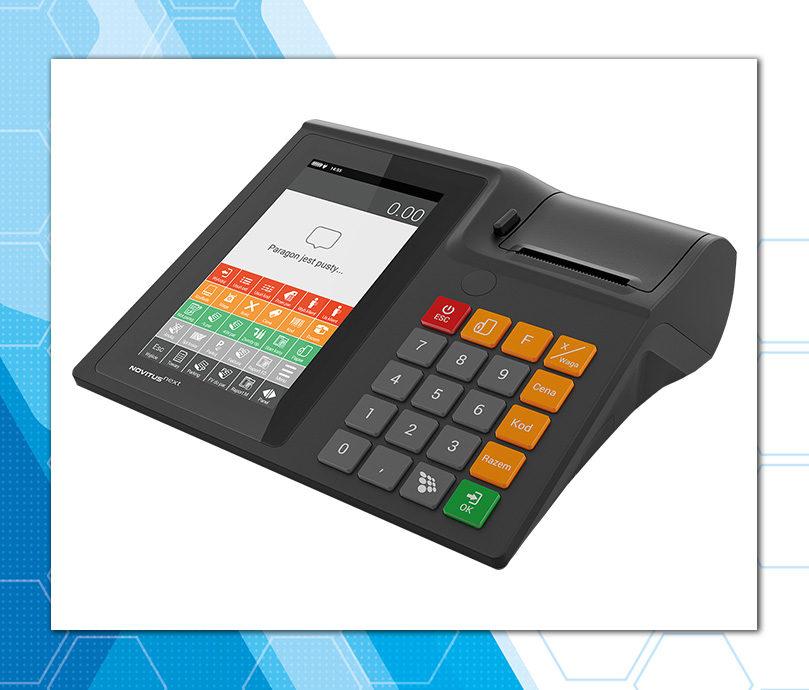 Novitus Next - kasa fiskalna z tabletem