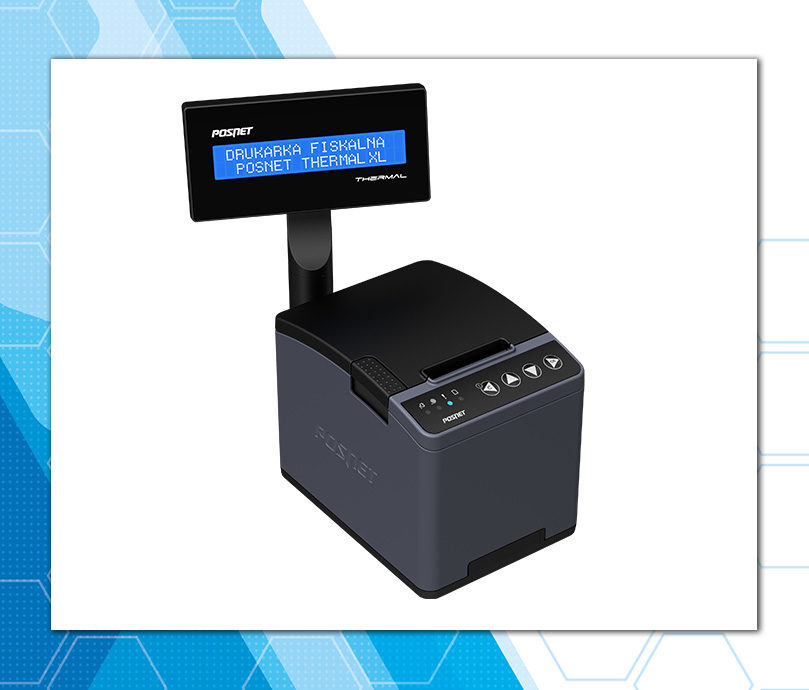 Posnet Thermal XL - wydajna drukarka fiskalna