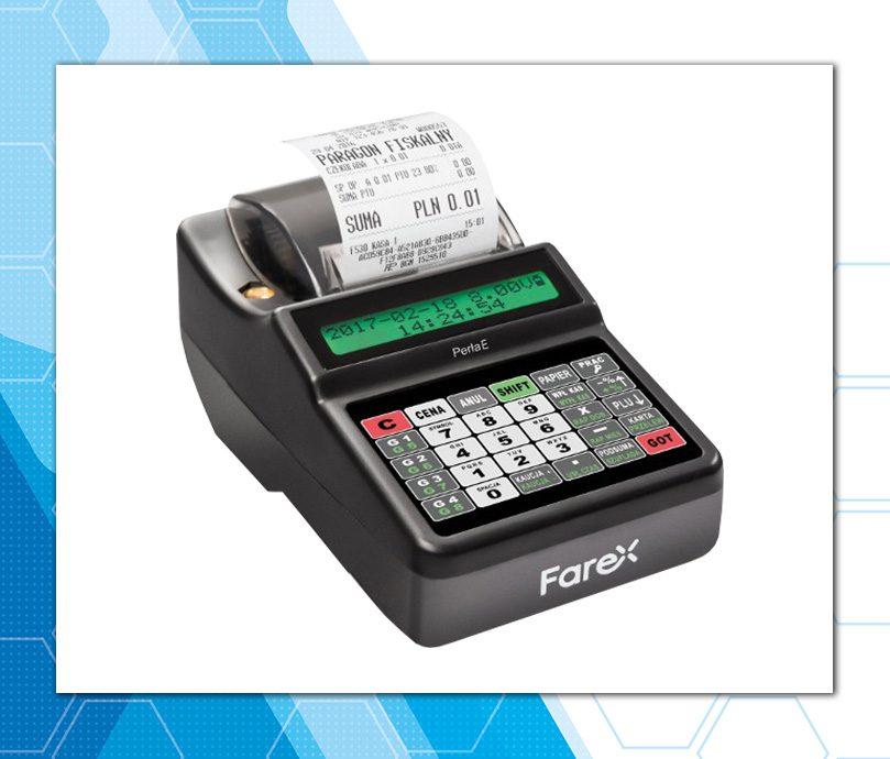Farex Perła E Plus - niedroga kasa z kopią elektroniczną